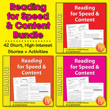 Reading for Speed & Content {Bundle}
