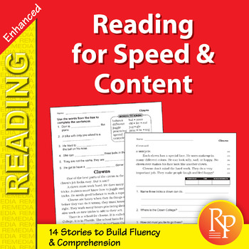 Reading for Speed & Content for Grades 2-3 - Enhanced