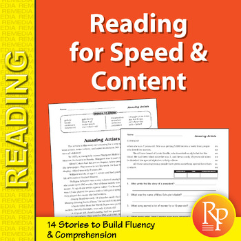 Reading for Speed & Content for Grades 4-5