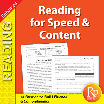 Reading for Speed & Content for Grades 4-5 - Enhanced