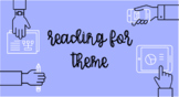 Reading for Theme - A Scaffold