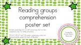 Reading groups comprehension poster set