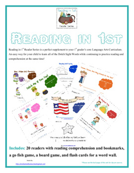 Reading in 1st Printable Reader Series