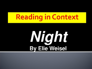 Reading in Context_Night