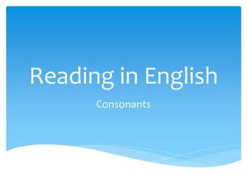 Reading in English