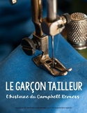 Reading in French: Le Garçon Tailleur, story about Campbell Remess