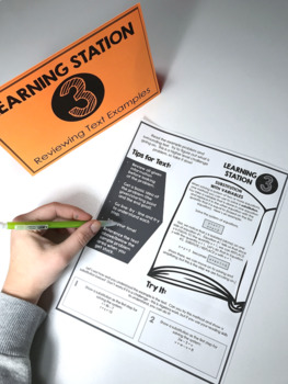 Reading in Math Skills Pack: Doodle Note & Practice Stations
