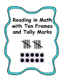 """""""I Have, Who Has?"""" Reading in Math with Ten Frames and Tal"""