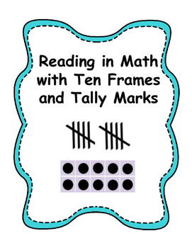 """I Have, Who Has?"" Reading in Math with Ten Frames and Tal"