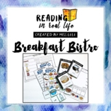 Reading in Real Life: Breakfast Words Unit [Restaurant Edition]