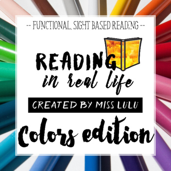 Reading in Real Life: Colors