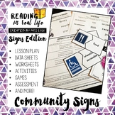 Reading in Real Life: Community Signs Unit