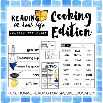 Reading in Real Life: Cooking