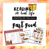 Reading in Real Life: Fast Food Unit [Restaurant Edition]