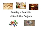 Reading in Real Life: Nonfiction Project