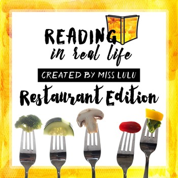 Reading in Real Life: Restaurant Edition