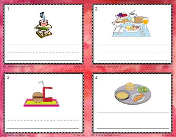 Reading in Real Life Task Cards: Restaurant Basics