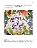 Reading in Science Lesson for Plants Can't Sit Still by Rebecca Hirsch