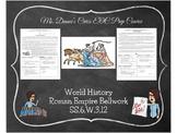Reading in Social Studies Bellwork: Roman Empire- SS.6.W.3.12