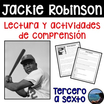 Reading in Spanish - Jackie Robinson - Lectura - Black History Month in Spanish
