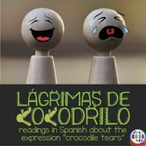 Reading in Spanish: Lágrimas de cocodrilo, story and meaning of idiom