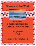 Reading in the Content Area: Oceans of the World