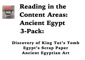 Reading in the Content Areas:  Ancient Egypt