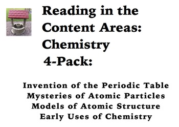 Reading in the Content Areas:  Chemistry 4-Pack