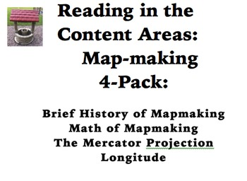 Reading in the Content Areas:  Mapmaking 4-Pack