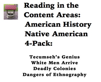 Reading in the Content Areas:  Native Americans in America