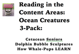 Reading in the Content Areas:  Ocean Creatures 3-pack