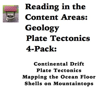 Reading in the Content Areas:  Plate Tectonics 4-pack