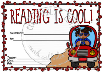 Reading is Cool (Boy and Girl Versions Inc.)