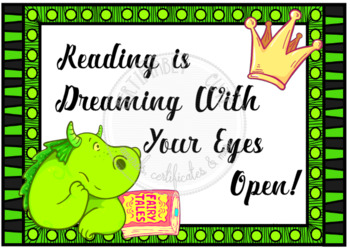 Reading is Dreaming With Your Eyes Open!
