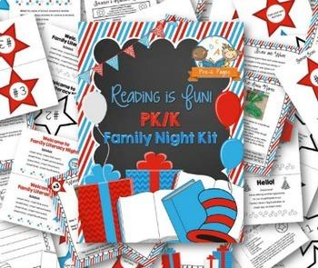 Reading is Fun Family Literacy Night Kit