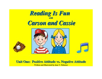 Reading is Fun with Cassie and Carson