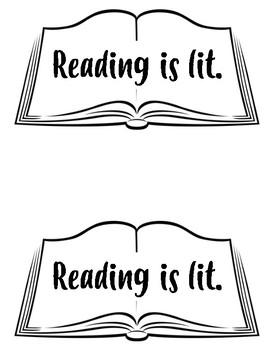 Reading is Lit! Printable