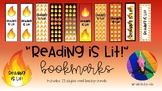 Reading is Lit! bookmarks