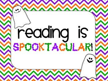 Reading is Spooktacular! {FREEBIE!}