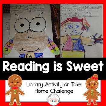 Reading is Sweet Cookie Decorating Freebie