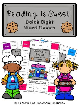 Reading is Sweet Dolch Sight Word Games