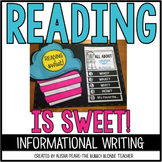 Reading is Sweet!   {Reading Week!}