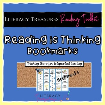 Reading is Thinking! Comprehension Bookmarks
