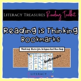 Reading is Thinking! Comprehension Bookmarks      Distance