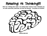 Reading is Thinking Graphic Organizer