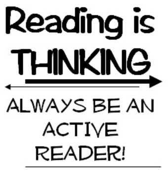 Reading Strategy Bookmark