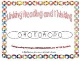 Reading is Thinking-Visualizing Bookmark and Graphic Organizer