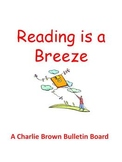 Reading is a Breeze - A Charlie Brown Springtime Bulletin Board