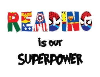 Reading Superpowers Posters & Worksheets | Teachers Pay Teachers