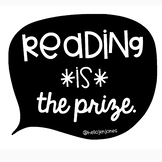 Reading *is* the Prize Poster